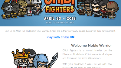 Chibi_Fighters Dapps