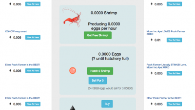 Ether_Shrimp_Farm Dapps